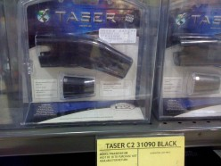 Taser: now a big part of the police officer's equipment