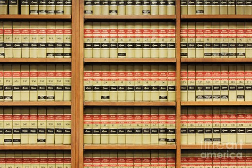 Law books once common in prison libraries are being replaced by computers