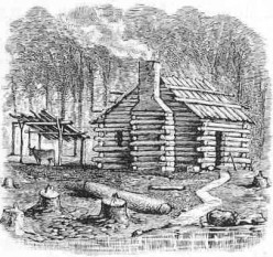 Early American Home Styles (First Settlers)
