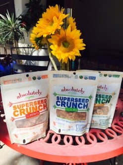 Losing Weight Eating Gluten-Free Superseed Crunch