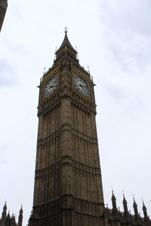 The imposing Big Ben