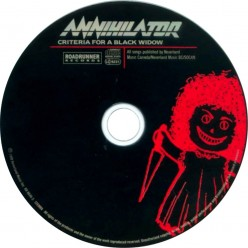 A Review of the album Criteria for a Black Widow by Annihilator the best Canadian thrash metal band