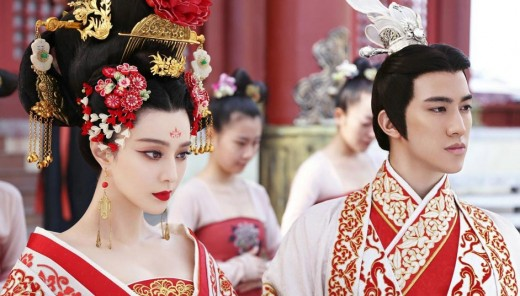 Fan Bingbing in the Television show, The Empress of China
