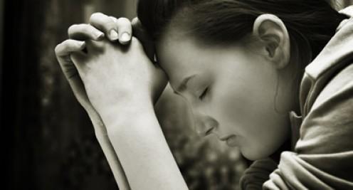Then she prayed prayers of gratitude.