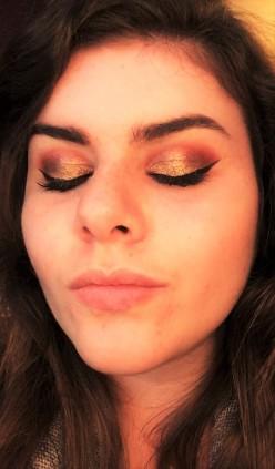 Burgundy and Copper eye Tutorial