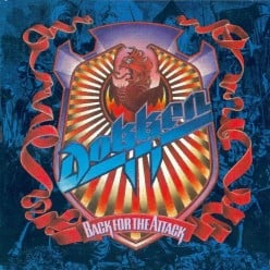 Review Dokken Back For the Attack 1987 featuring the Powerful Vocals of Don Dokken