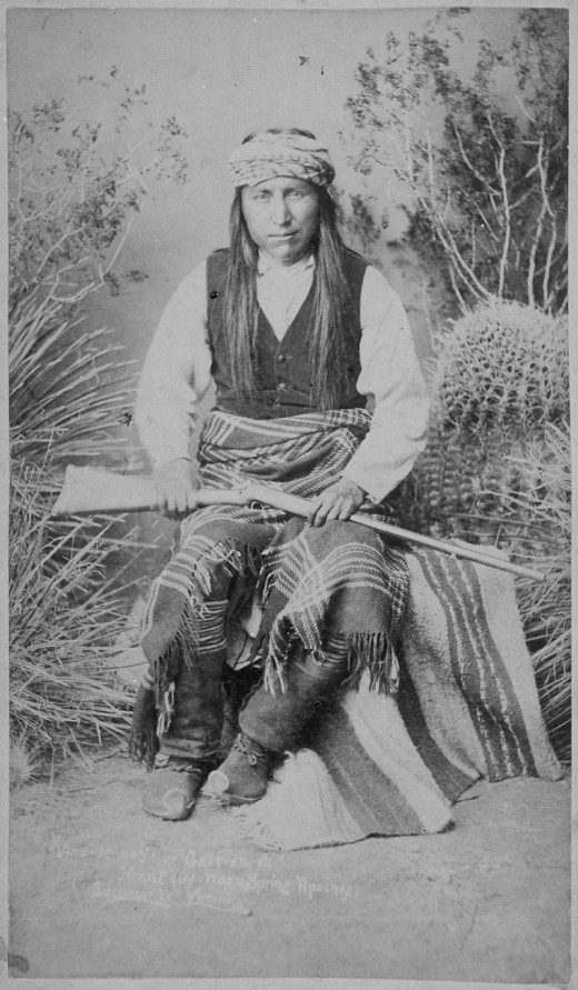 Ka-e-te-nay, Head Chief, Warm Springs Apaches
