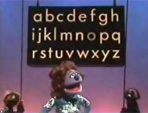 Diva singing the alphabet opera style. Photo courtesy google images.