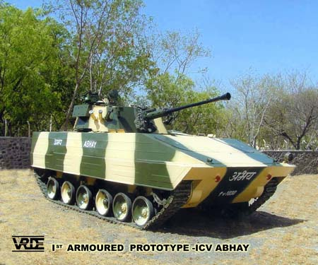 Infantry combat vehicle Abhay