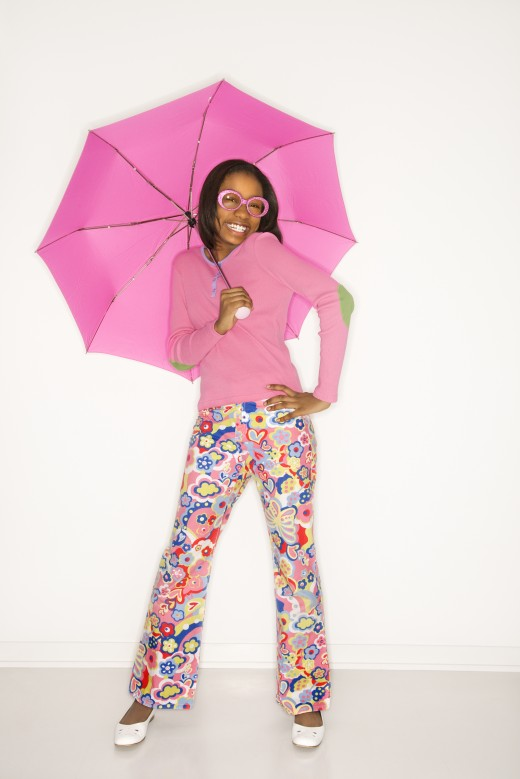 Let a smile be your umbrella!