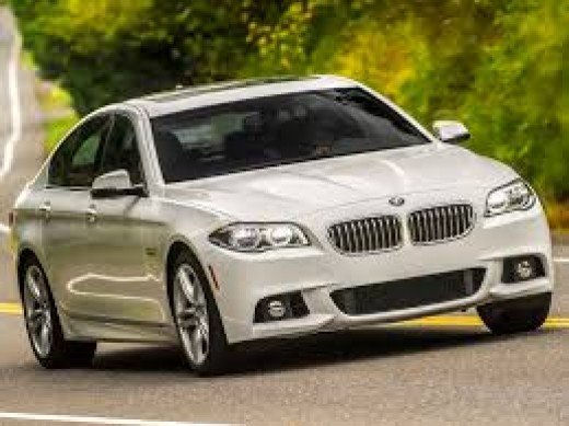 The BMW 5-series has been manufactured since 1972 and it is a mid-size luxury car.