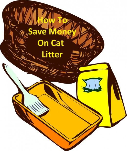 Options for saving money on cat litter