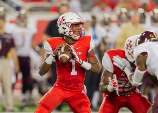 QB Greg Ward, Jr (Houston) '15 232-345 2,828yds 17td 6int 198att 1,301yds 21td