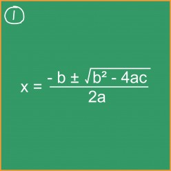 Algebra: How to Use the Quadratic Formula to Solve Quadratic Equations