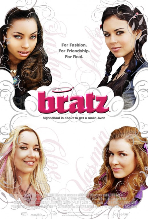 Poster for Bratz:The Movie. Property of Lionsgate Films.
