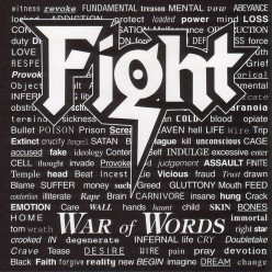 A Review of the very good groove metal album War of Words By the band Fight