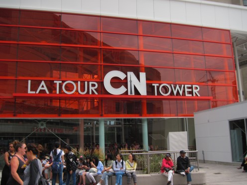 CN Tower Entrance
