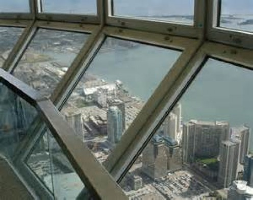 CN Tower Lookout deck