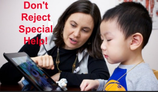 Speech therapy must be done one-on-one or in small groups.