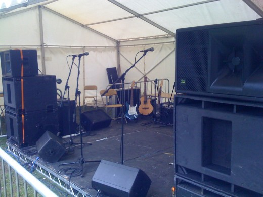 The first Picture is of our KV2 Audio ES rig at an outdoor event in Leeds.