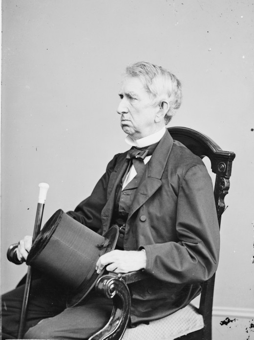 Public Domain Photo of U.S. Secretary of State William Henry Seward by the Studio of Mathew Brady
