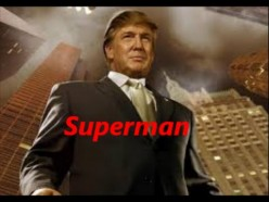 Superman Trump went to Mexico - Where was Hillary?