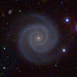 NGC 2857,  a spiral galaxy in the constellation Ursa Major