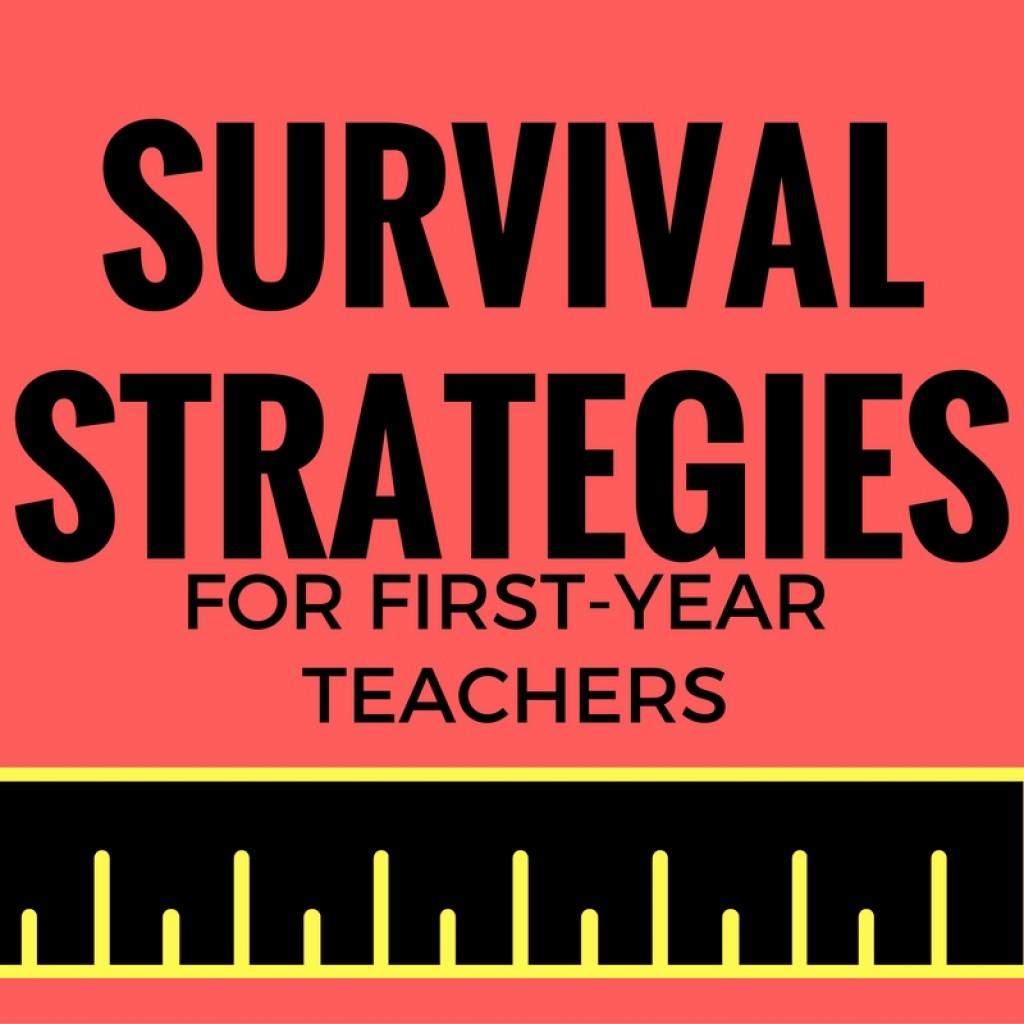 first year teacher survival guide