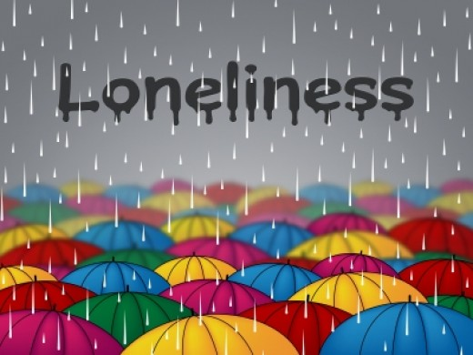 loneliness is not a punishment, it is God's way of trying to get your attention to put him first in your life