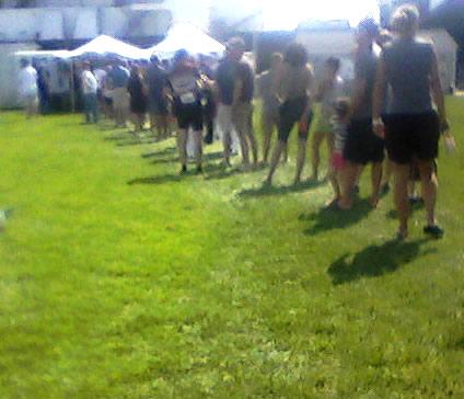 The Beer Line.