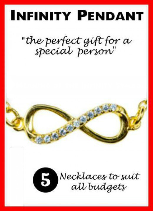 Infinity pendant meaning beautiful gold and silver necklaces to make that special person happy by giving a unique gift aloadofball Gallery