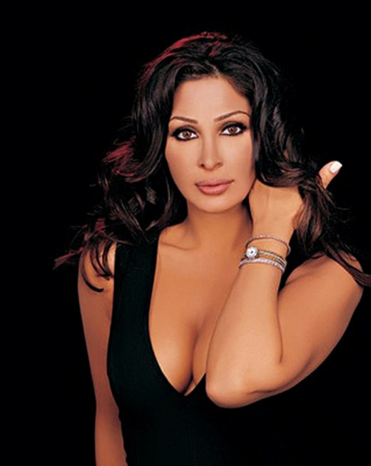 Beautiful Lebanese singer Elissa