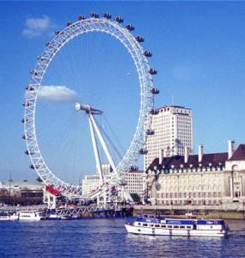 Take a trip on the London Eye