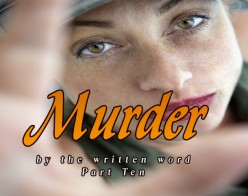 Murder by the Written Word X