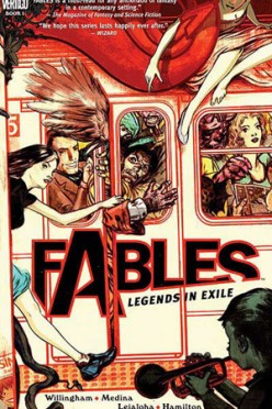 Fables Volume One: A Disappointing  Mystery Set in a Great Fantasy World