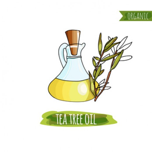 Tea tree oil can help with acne.