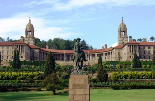 Beautiful buildings in South Africa. This is the Union Building in Pretoria @ Wikipedia
