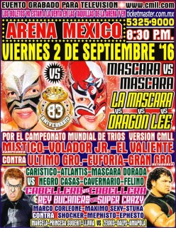 LuchaPalooza! CMLL 83rd Anniversary Show Review