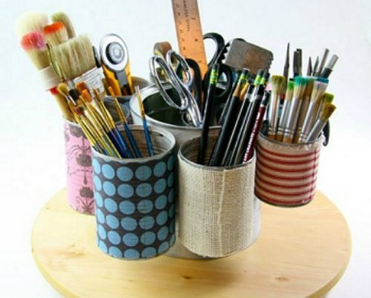 35 cool tin can craft projects hubpages for Tin cans for crafts