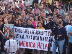 Christian refugees coming into America very low count.