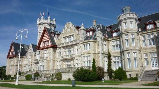 Palacio De La Magdalena in Santander. Once the summer residence of the Spanish Royal Family
