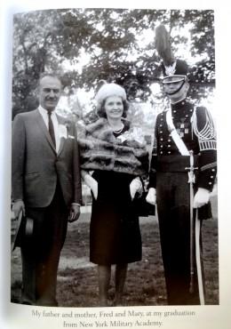 Fred and Mary Trump at Donald's graduation from NY Military Academy
