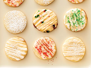 Vanilla Icebox Cookies
