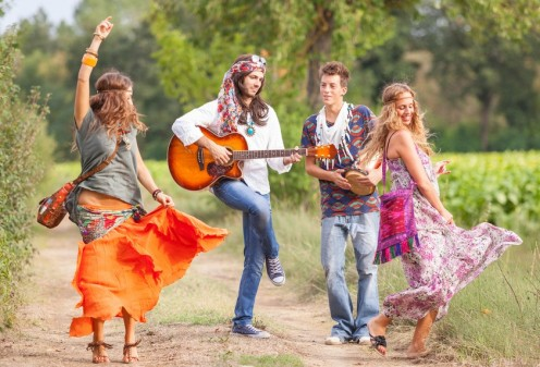 Hippies and their free-living