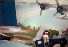 A Spitfire at the National Air & Space Museum, March 2000.