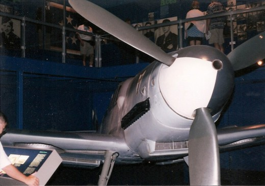 A Bf 109 at the National Air & Space Museum, Washington, DC, 1999.