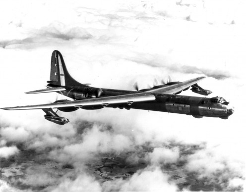 The Reconnaissance version of the B-36.