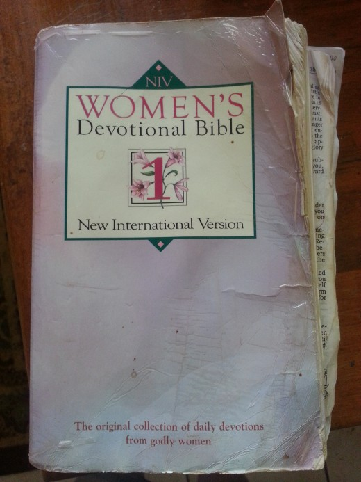 My falling apart Women's Devotional Bible.