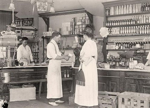 Old general store circa 1918