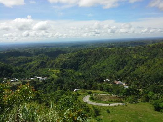 Forestlands in Municipality of Talaingod, Davao del Norte, Mindanao, Philippines